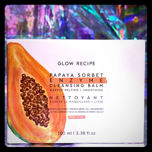 Glow Recipe Other - NIB Glow Recipe PAPAYA SORBET BALM *JUST LAUNCHED